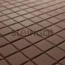 Квадрат 100х100х60 Темно-коричневый (верхний прокрас)