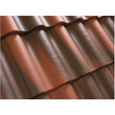 Рядная черепица серия Antik, кирпично-красный, 29