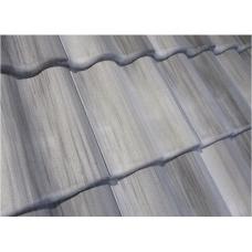 Рядная черепица серия Antik, серый, 81