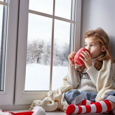 Окна в загородный дом или коттедж Veka 1300*1400