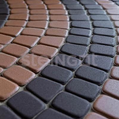 Классика круговая Темно-коричневая 60 мм