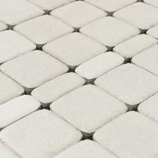 Тротуарная плитка Браер Белая