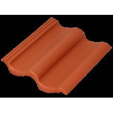 Sea Wave цементно-песчаная черепица кирпично-красный