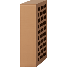 Кирпич лицевой коричневый 1НФ — Гладкий