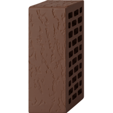 Кирпич лицевой шоколад 1,4 НФ —Дуб